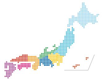 日本全国一律1,500円で宅配便にてお届けします。