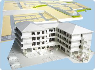 高クオリティーなのに低価格 激安 安心 きれい 模型 住居 公共施設 住宅模型 建築模型 モデル ミニチュア